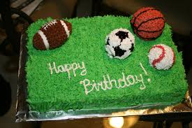 decor sports decorated cakes room design plan top in sports