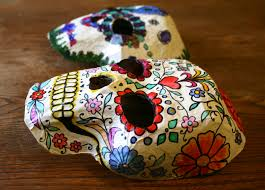 day of the dead masks day of the dead crafts masks made by toya