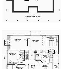 Finished Basement House Plans Ranch House Plan 54075 Powder House And Layout Finished Basement