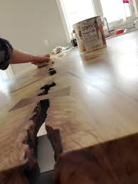 furniture live edge countertop and waterfall countertop for