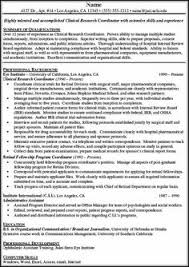 Coordinator Resume Examples by Click Here To Download This Clinical Research Associate Resume
