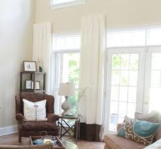 High Window Curtains High Window Curtains Diy Curtain Rods Domestic Charm Foot