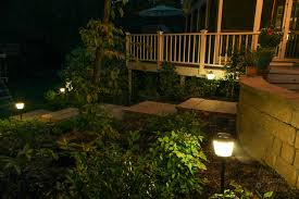 Install Landscape Lighting - how to install landscape lights and repel mosquitoes pretty