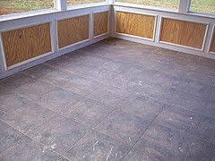 tile floor porches bead board deck building u0026 screen porch