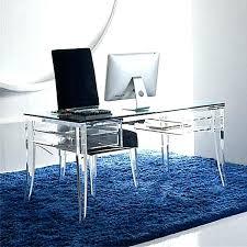 modern glass work desk modern glass desk style modern glass desk office all office modern