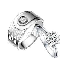 Sterling Silver Engravable Jewelry Names Engraved Sterling Silver Bridal Wedding Rings Set
