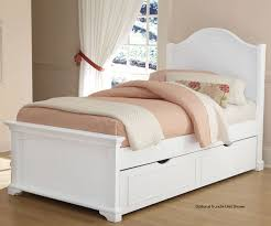 Girls White Twin Bed Bedroom Storage Trundle Bed Trundle Beds For Girls Trundle