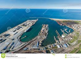 Port Elizabeth South Africa Map by Aerial Of Port Elizabeth Harbour South Africa Stock Photo Image