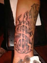 18 best money and flames tattoo designs images on pinterest