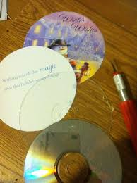 how to make cd ornaments ornament craft and holidays