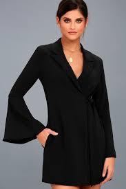 black dress shirt dress long sleeve dress shift dress 45 00