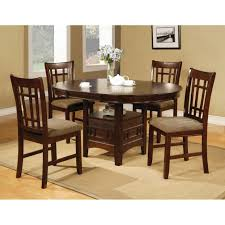 engaging dining table chairs room pc dinette bench set walnut ikea
