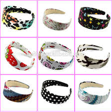 plastic headbands fashion fabric headband plastic headbands wide for woman