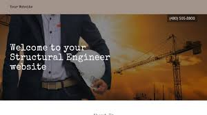 structural engineer website templates godaddy