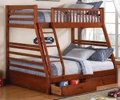 Bunk Bed With Desk And Stairs Bunk Bed With Stairs Brown Varnished Mahogany Bunk Bed Desk How