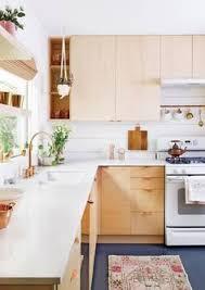 White Kitchen Cabinets With White Appliances White Appliances U0026 Birch Cabinets White Appliances White Subway
