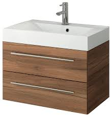 concetto bath vanity red walnut 28