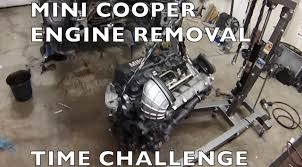 mini cooper engine removal time challenge r53 2002 2006 cooper s