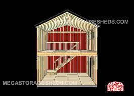 2 story storage shed with loft 16 x 24 floor plan small house 6 mega storage sheds two story cabins