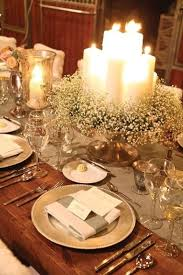 Winter Wedding Centerpieces Romance And Warmth 29 Genius Winter Wedding Table Setting Ideas