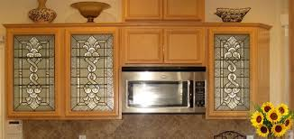 Kitchen Cabinet Doors With Glass Panels Kitchen Cabinet With Glass Side Panel Panels For Cabinets Best 25