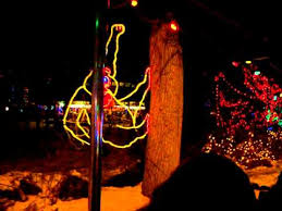 denver zoo train and lights youtube