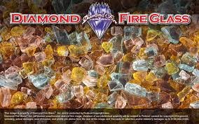 Fire Pit Crystals by Autumn Premixed Fire Pit Glass Crystals