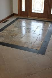 mosaic tile floor entry small home decoration ideas fancy in
