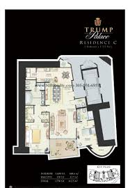 beach club hallandale floor plans floor plan trump palace sunny isles beach trump palace condo for