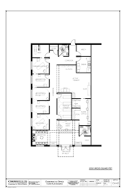 chiropractic office floorplan with active passive therapy and