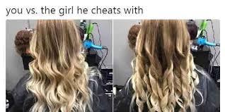 Hair Meme - men are completely baffled by this hair meme so women are telling