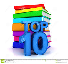 top ten books stock images image 18428274