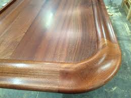sapele mahogany countertops j aaron residential wood bar top with chicago bar rail species sapele construction style plank thickness 1 1 2