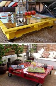 transformer une table de cuisine pallet coffee table when a platform becomes coffee table 45 ideas