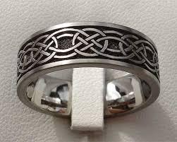 celtic rings bands images Mens celtic wedding bands titanium adornment pinterest jpg
