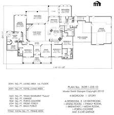 4 bedroom 1 story house plans plan no 3589 0504 3 bed room 2 story floor pl luxihome