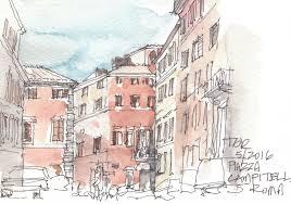 urban sketching roma u2013 tra 20