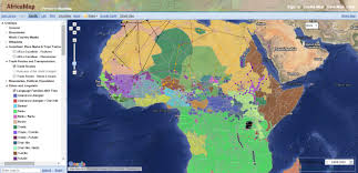 africa map color a fascinating color coded map of africa s diversity genealogy