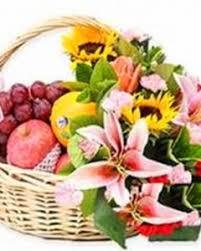 fruits flowers 8 items fruits flowers basket flowersdeliverymanila
