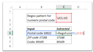 zip code validation pattern vba how to use regular expressions regex in microsoft excel both