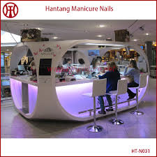 Manicure Bar Table Appealing Nail Bar Table And Chairs With Manicure Table Mall Nail