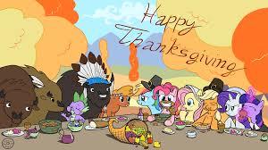 image my pony thanksgiving my pony friendship is