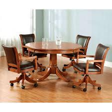 furniture terrific gametable set optional rocker swivel chairs