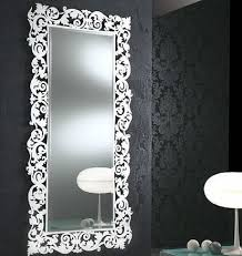 Unique Mirrors For Bathrooms Decorative Mirrors Bathroom Photo Of Nifty Dining Room Wall