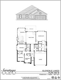 saratoga homes floor plans saratoga homes glendale lakes