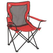 Foldable Outdoor Chairs Amazon Com Coleman Broadband Mesh Quad Camping Chair Camping