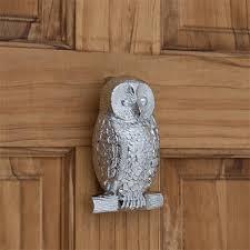 owl brass door knocker hardware