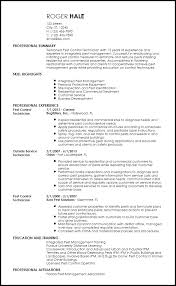 Inventory Resume Examples by Free Professional Pest Control Resume Templates Resumenow
