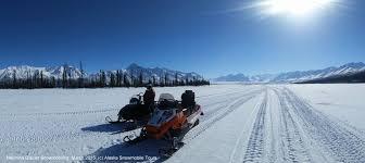 snow machine rental nelchina glacier snowmobile tour alaska backcountry access