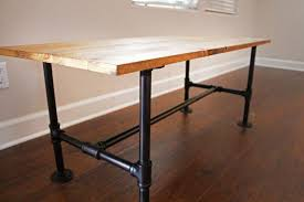Pipe Desk Diy Diy Make Your Own Stylish Metal Pipe Coffee Table Home And
